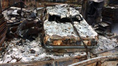 PARADISE FIRE VICTIM CAR
