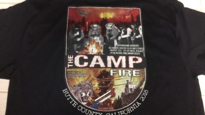 CAMPFIRE SHIRTS TO HELP DISASTER VICTIMS